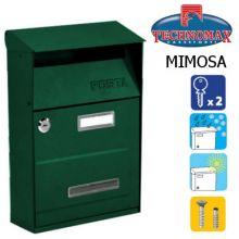 technomax letterbox mimosa green