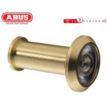 abus door viewer 1200 brass