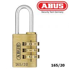 abus padlock 165-20