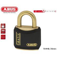 abus padlock t84mb 20mm