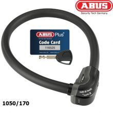 abus steel o flex lock 1050