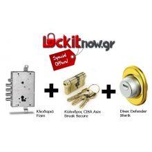 offer9 change lock armoured door
