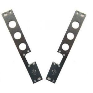 electric strike plate 3 slots