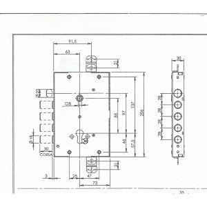 fiam lock armoured doors dimensions