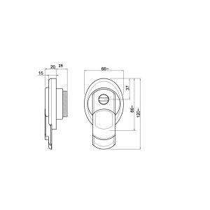 diesc mg3551 magnetic defender dimensions