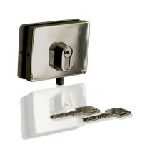 abus 9440 glass door lock basic