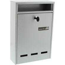 burgwachter wismar 771 letter box grey (1)