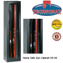 technomax gun cabinet home safe hs-40
