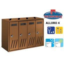 technomax letterbox alloro 4 bronze
