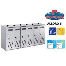 technomax letterbox alloro 6 silver