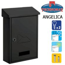 technomax letterbox angelica black