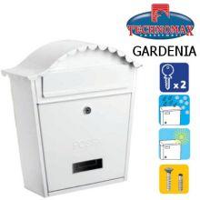 technomax letterbox gardenia white