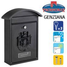 technomax letterbox genziana black