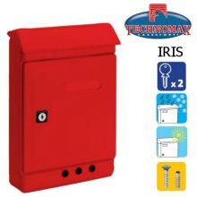 technomax letterbox iris red