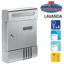 technomax letterbox lavanda