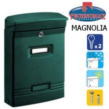 technomax letterbox magnolia green