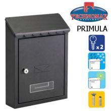 technomax letterbox primula black