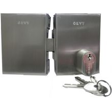 gevy glass door lock 118-057