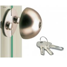 glass door lock 206.21
