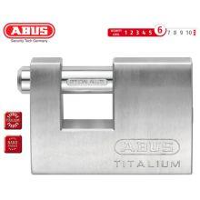 abus padlock titalium 82ti/70