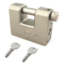 cisa steel padlock 28553