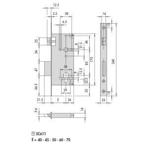 cisa 5c611 mortice lock dimensions (3)