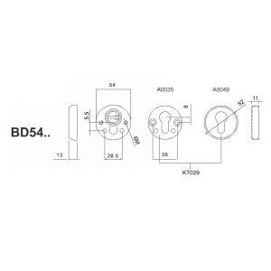 disec defender bd54d1 dimensions