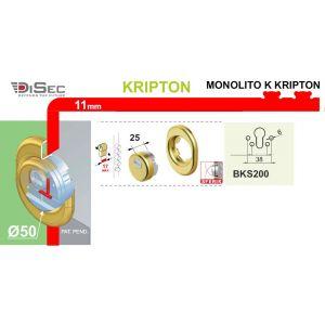 DISEC DEFENDER MONOLITO KRIPTON BKS200 DIMENSIONS