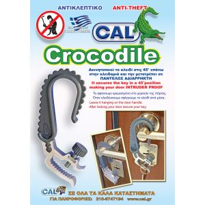 cal crocodile flyer front