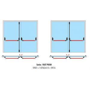 cisa 59016-10 installation example double door