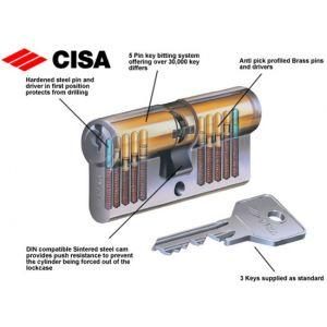 cisa cylinder c-2000 og300 inside pins