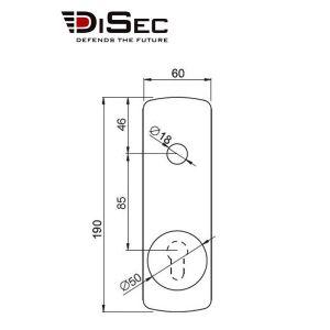 disec ki019p dimensions