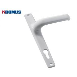 domus 6145 aluminium handle white