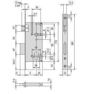 CISA 5C621 DIMENSIONS