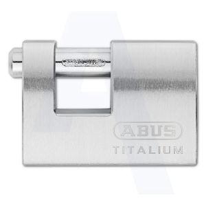 abus padlock titalium ti98 side