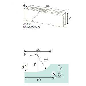 141.13 upper hinge dimensions