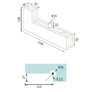 144.13-134.13 angle pivot dimansions