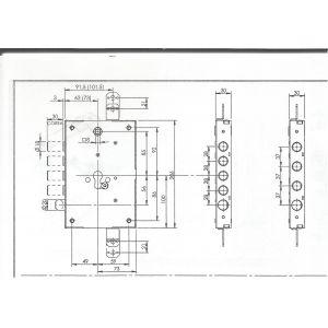 fiam 668g lock armoured door dimensions