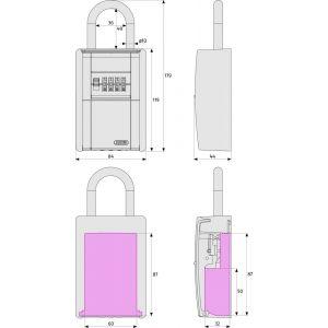 abus 797 keygarage dimensions (new3)