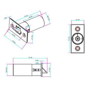 acc-040 electric latch bolt  lock dimensions (3)