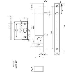 oem jeb-250kas electric bolt dimensions (new1)